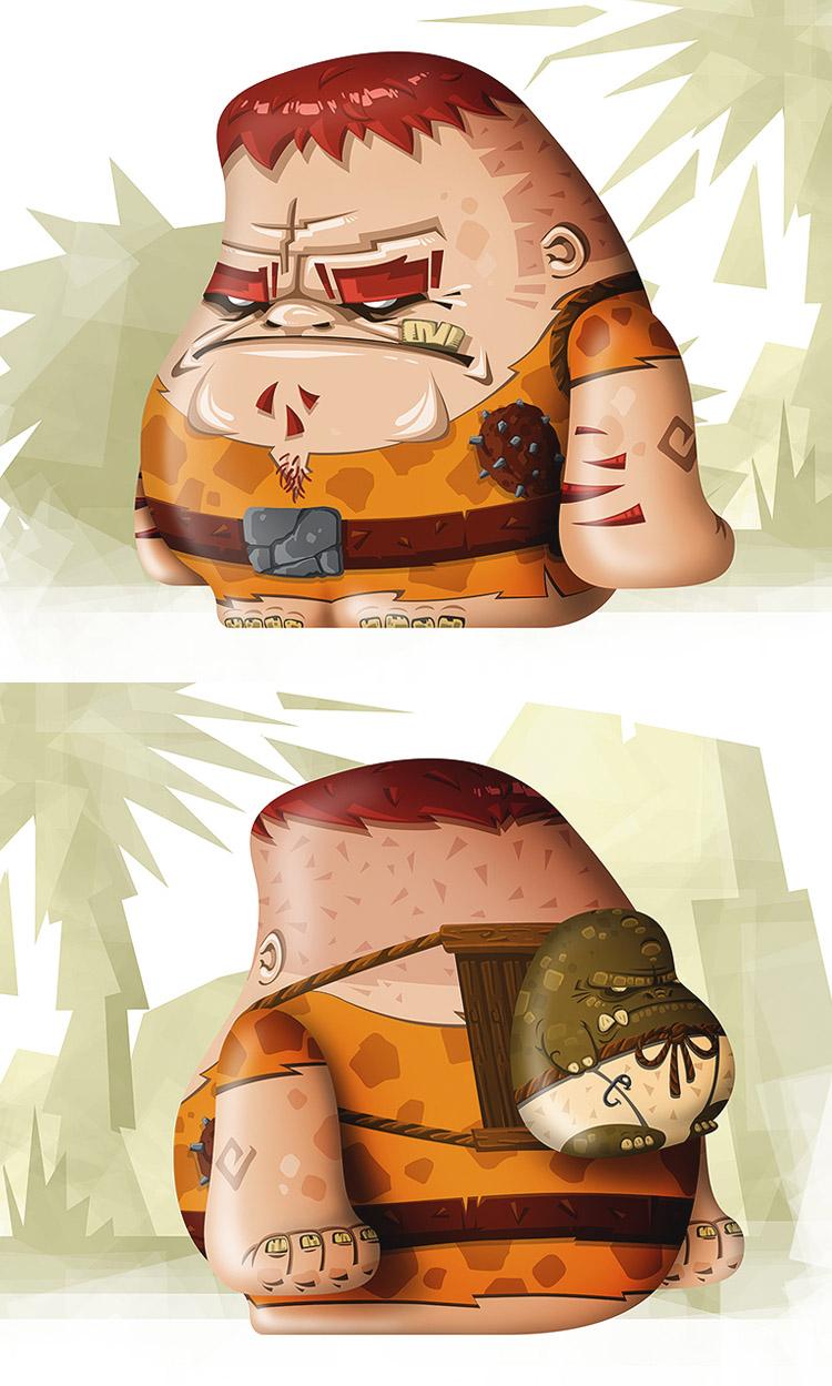 Steinzeit-Dude